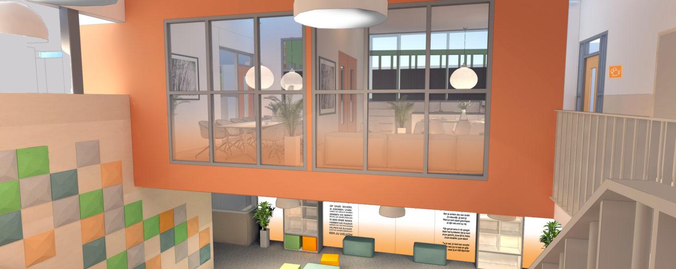 Brede School – interieurontwerp en realisatie